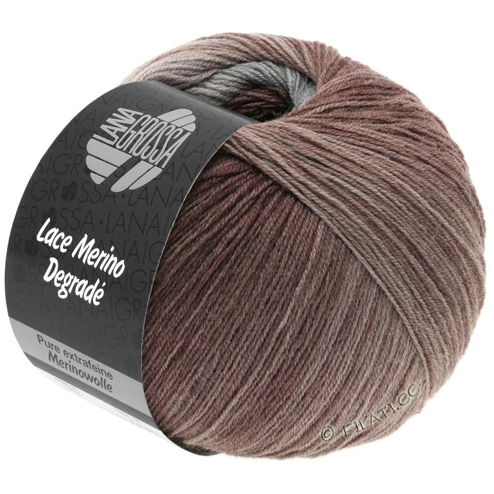 Lana Grossa LACE Merino Degradé | 401-beige gris/gris nacré/bois de rose