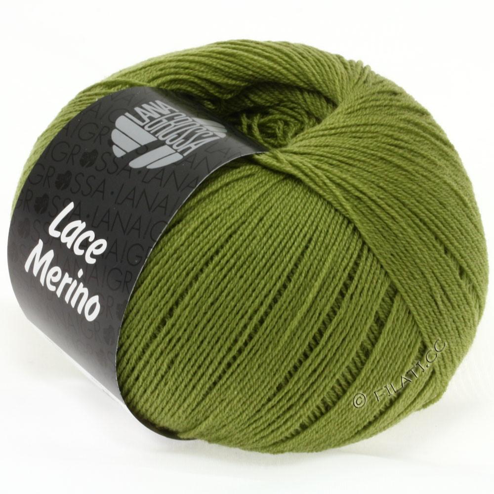 Lana Grossa LACE Merino  Uni   30-olive