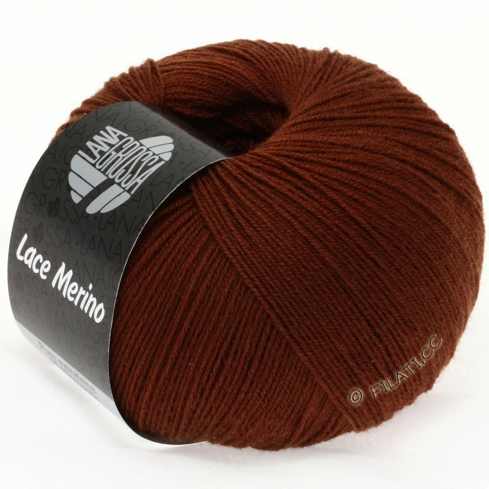 Lana Grossa LACE Merino  Uni   42-brun rouge