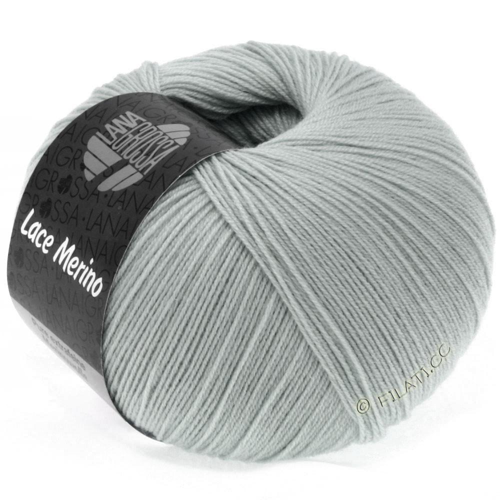 Lana Grossa LACE Merino  Uni | 50-gris argent