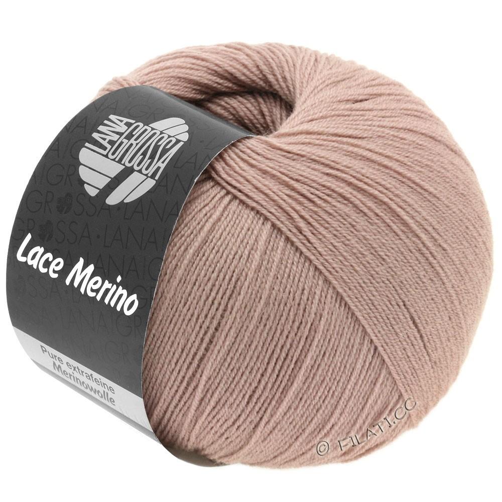 Lana Grossa LACE Merino  Uni | 52-bois de rose