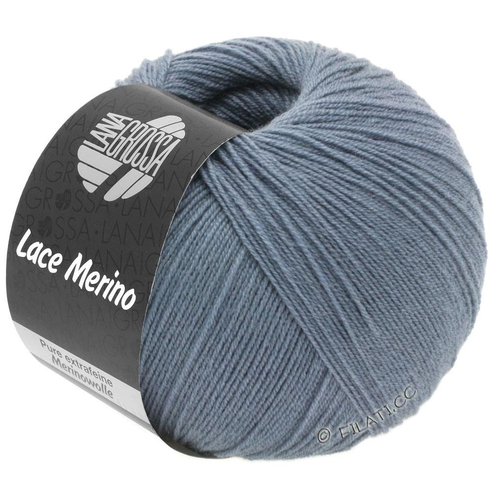 Lana Grossa LACE Merino  Uni | 53-bleu pigeon