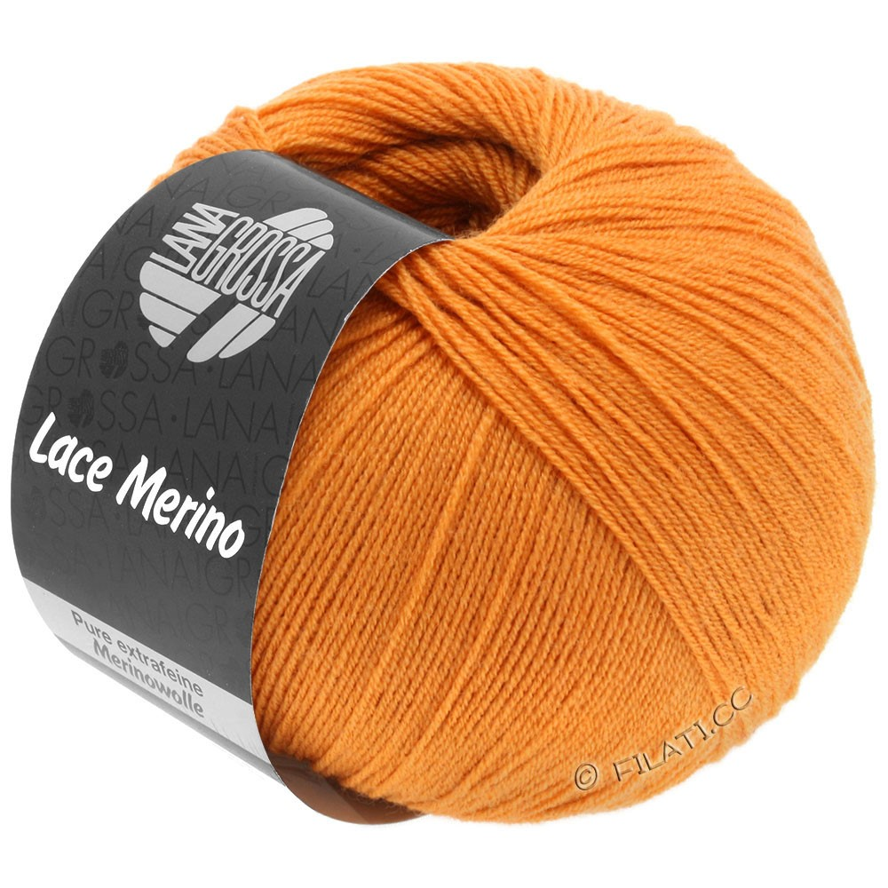 Lana Grossa LACE Merino  Uni   56-abricot