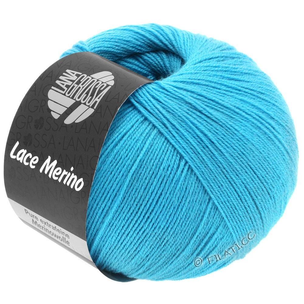 Lana Grossa LACE Merino  Uni   59-bleu turquoise