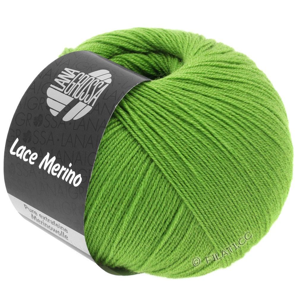 Lana Grossa LACE Merino  Uni   60-vert lumineux
