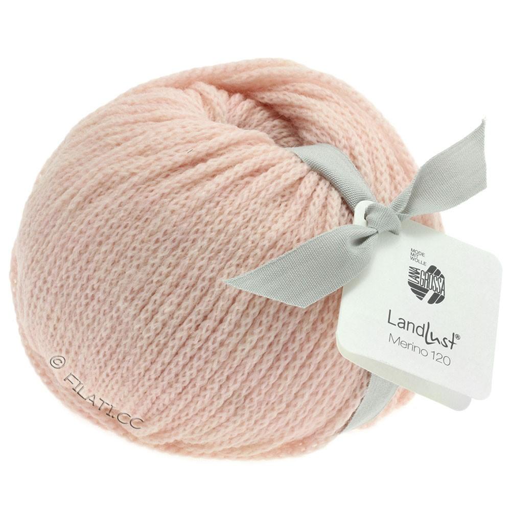 Lana Grossa LANDLUST MERINO 120 | 102-rose pastel