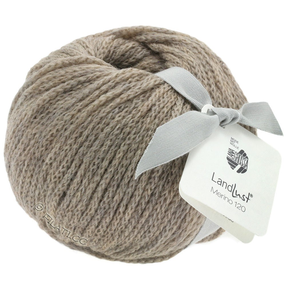 Lana Grossa LANDLUST MERINO 120 | 104-beige gris