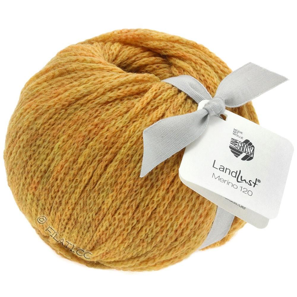 Lana Grossa LANDLUST MERINO 120 | 113-jaune miel