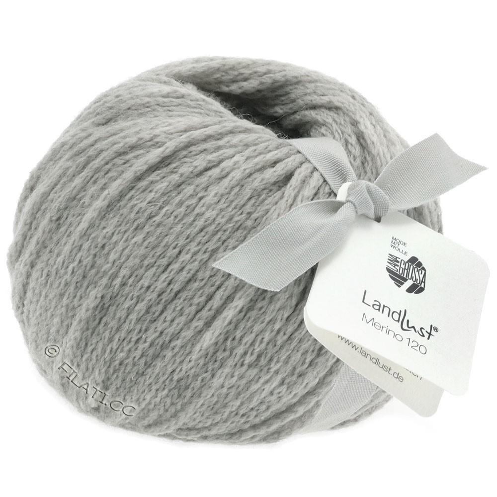 Lana Grossa LANDLUST MERINO 120 | 118-gris clair