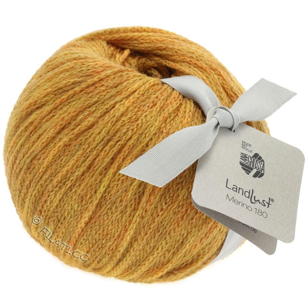 Lana Grossa LANDLUST MERINO 180 | 213-jaune miel