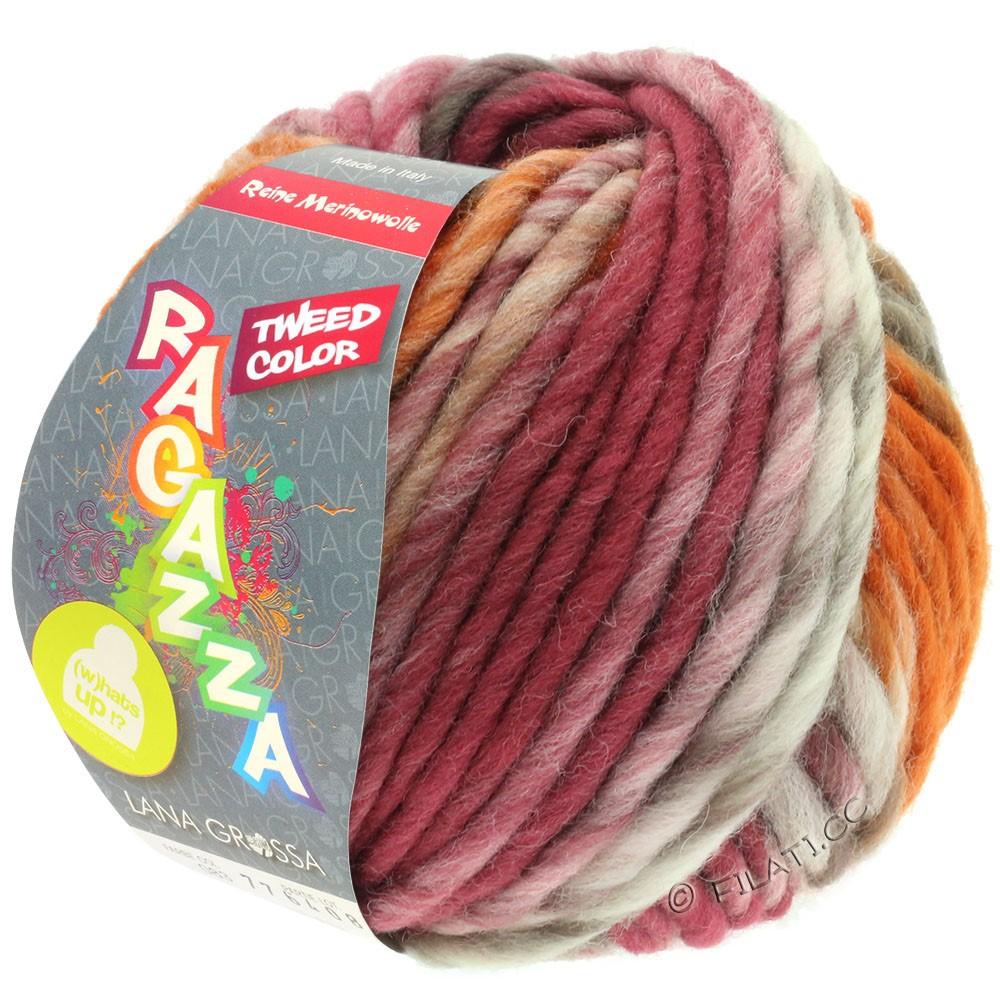 Lana Grossa LEI Tweed Color (Ragazza) | 406-nature/taupe/brun chocolat/bois de rose/cognac chiné