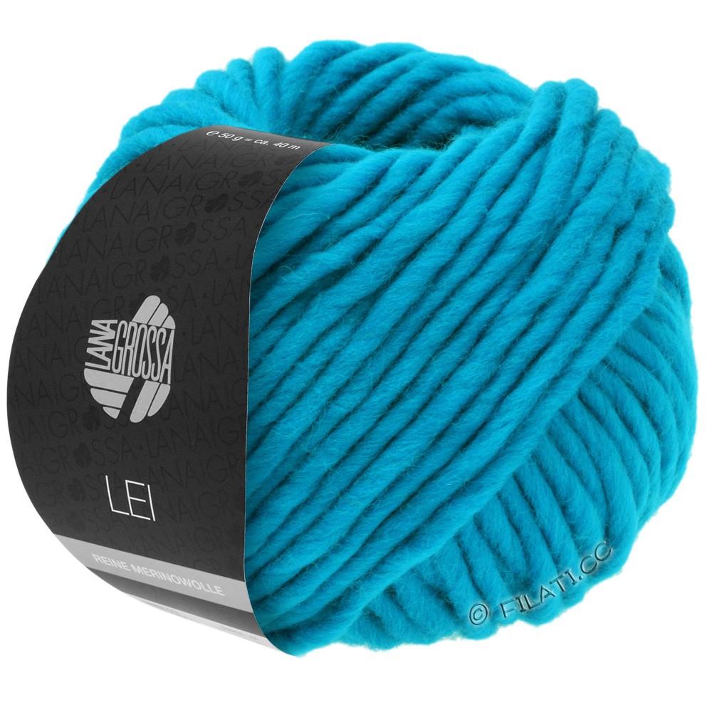 Lana Grossa LEI  Uni/Neon (Ragazza) | 028-bleu turquoise