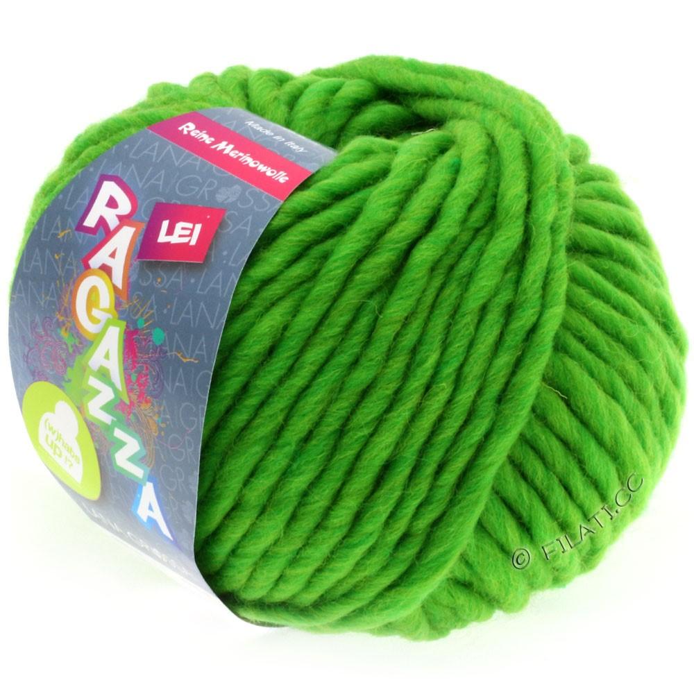 Lana Grossa LEI  Uni/Neon (Ragazza) | 061-vert poison chiné
