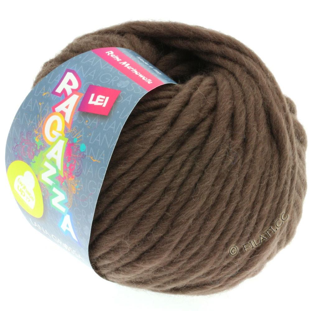 Lana Grossa LEI  Uni/Neon (Ragazza) | 064-brun gris