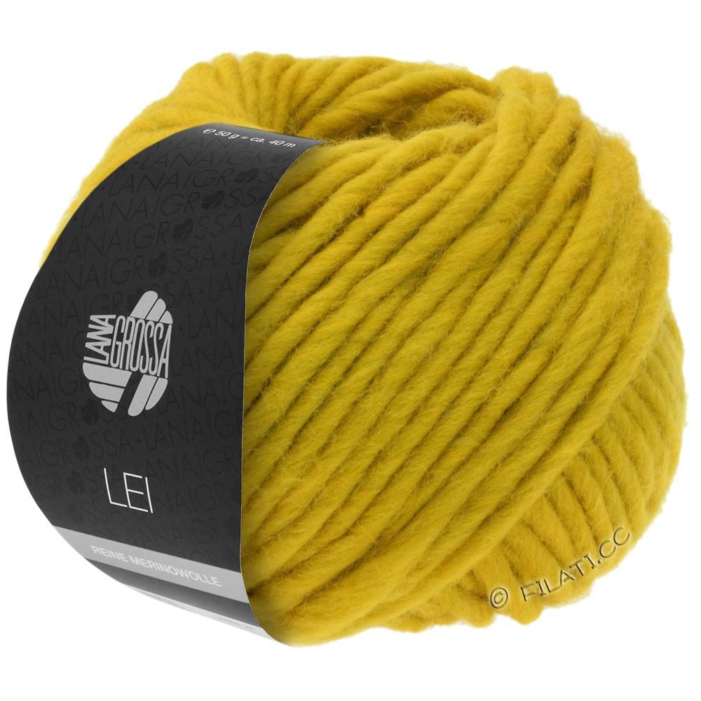 Lana Grossa LEI  Uni/Neon (Ragazza) | 067-jaune safran