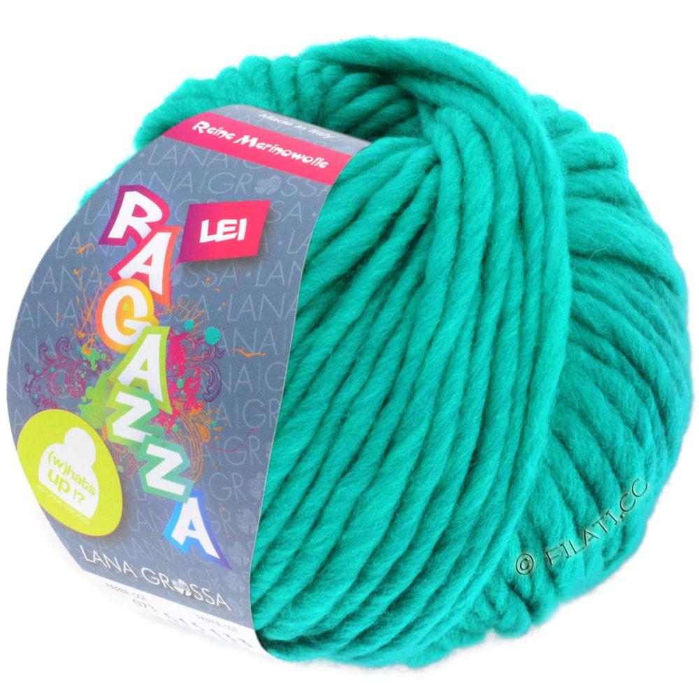 Lana Grossa LEI  Uni/Neon (Ragazza) | 076-vert turquoise
