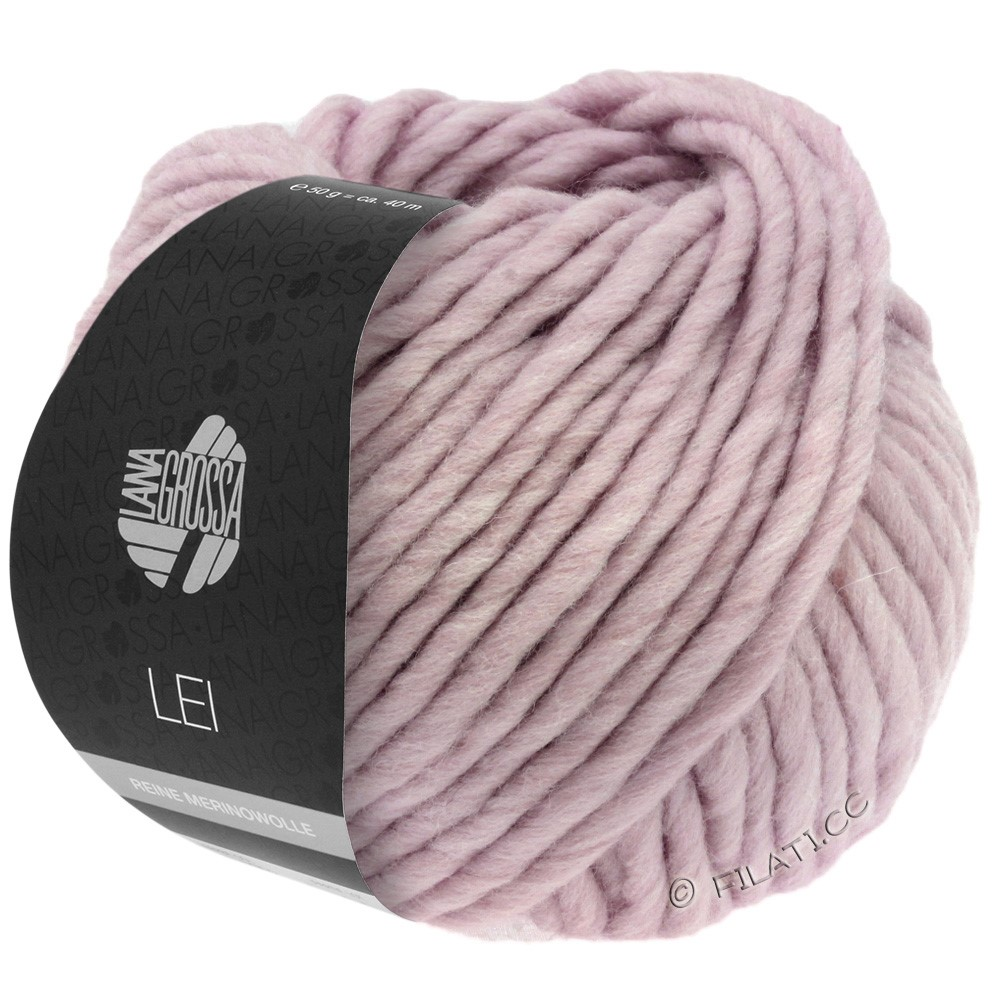 Lana Grossa LEI  Uni/Neon (Ragazza) | 079-bois de rose