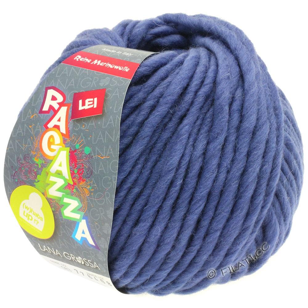 Lana Grossa LEI  Uni/Neon (Ragazza) | 083-bleu comme violettes