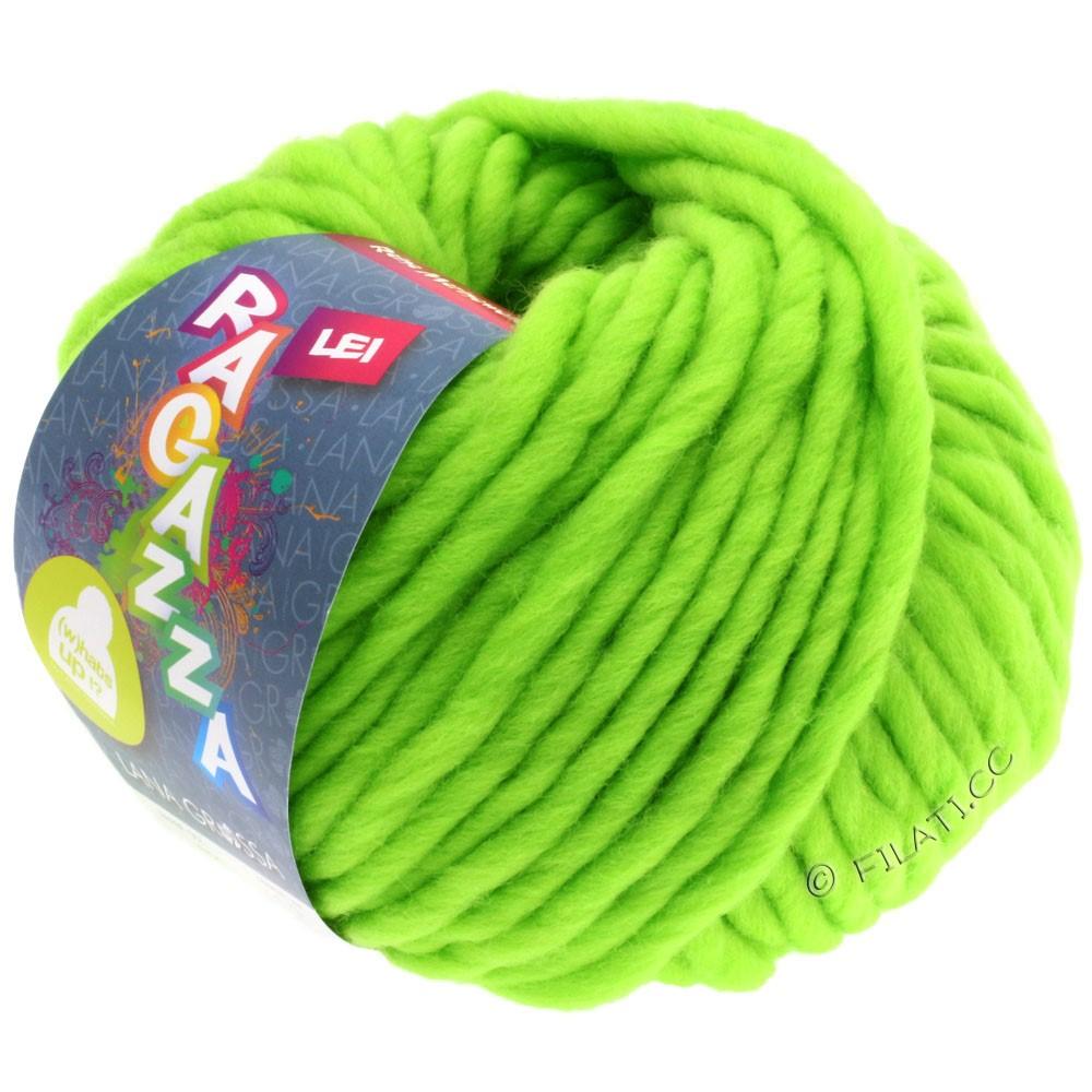 Lana Grossa LEI  Uni/Neon (Ragazza) | 503-vert néon