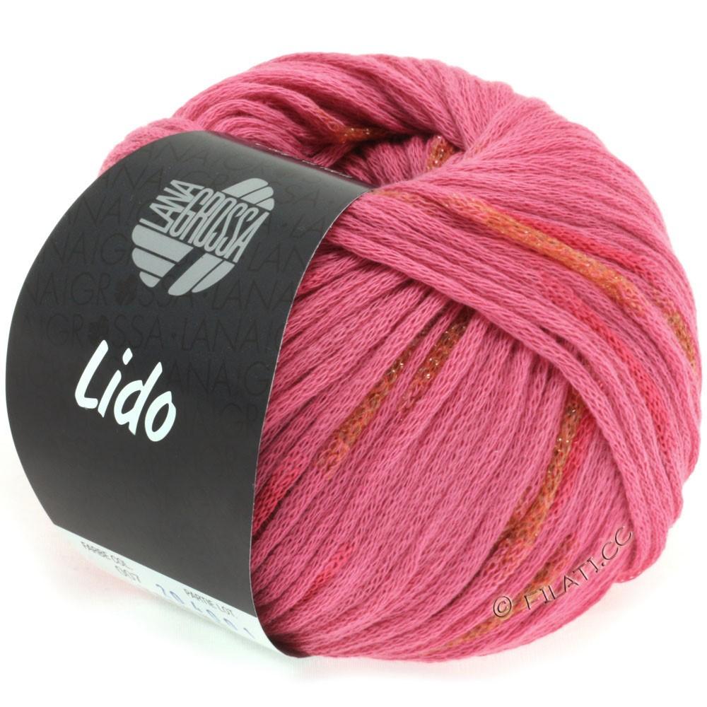 Lana Grossa LIDO | 07-rose vif/cuivre