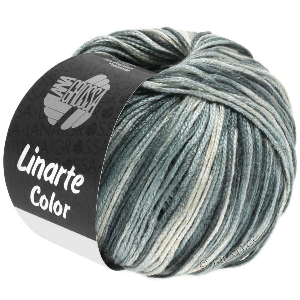 Lana Grossa LINARTE Color | 105-gris argent/gris platine/gris granit