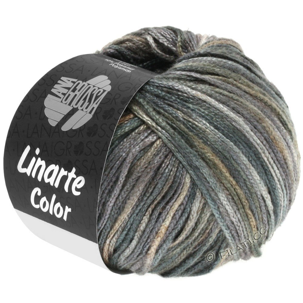 Lana Grossa LINARTE Color | 108-beige/perle grise/taupe/anthracite