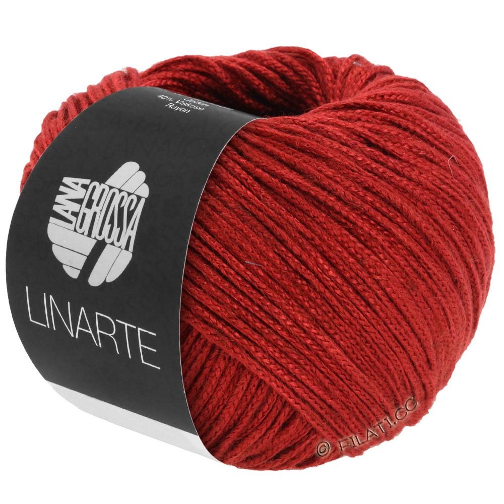 Lana Grossa LINARTE | 08-rouge foncé