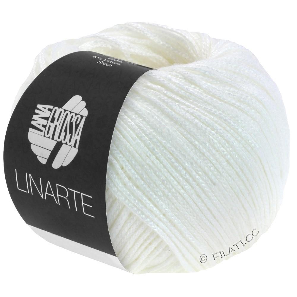 Lana Grossa LINARTE   17-blanc