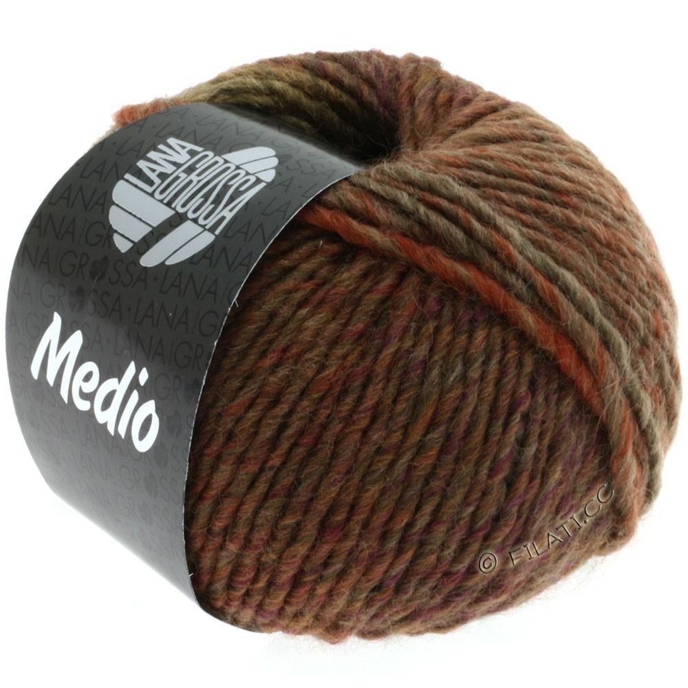 Lana Grossa MEDIO | 05-beige/brun/rouille
