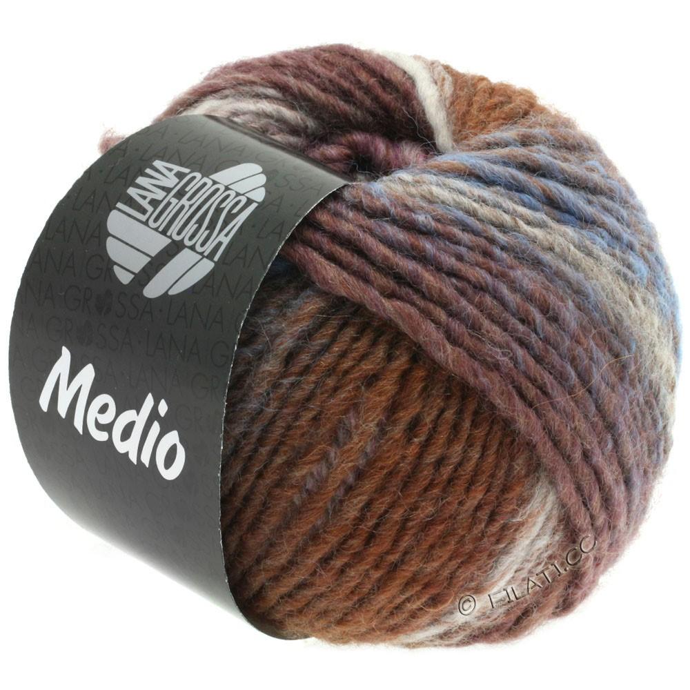Lana Grossa MEDIO | 37-taupe/rose/nature/brun gris/lilas