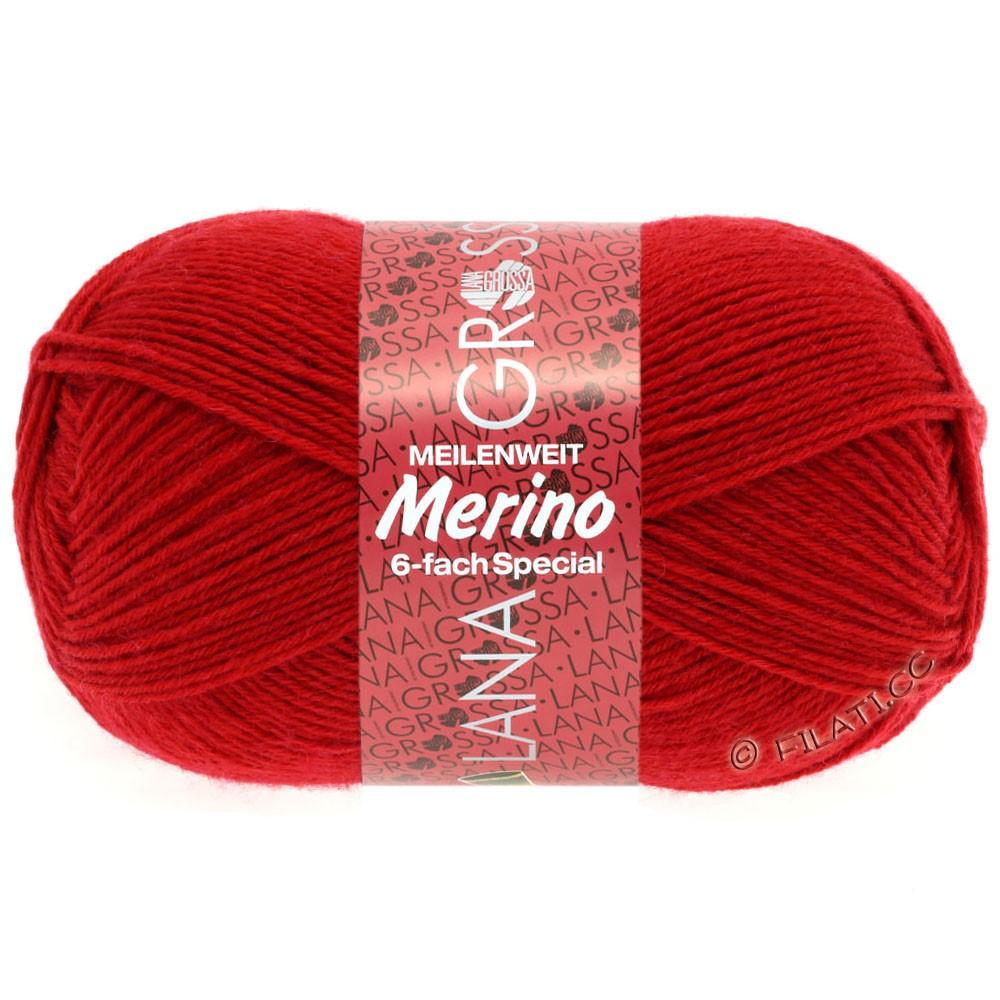 Lana Grossa MEILENWEIT 6-FACH 150g Merino | 1-rouge