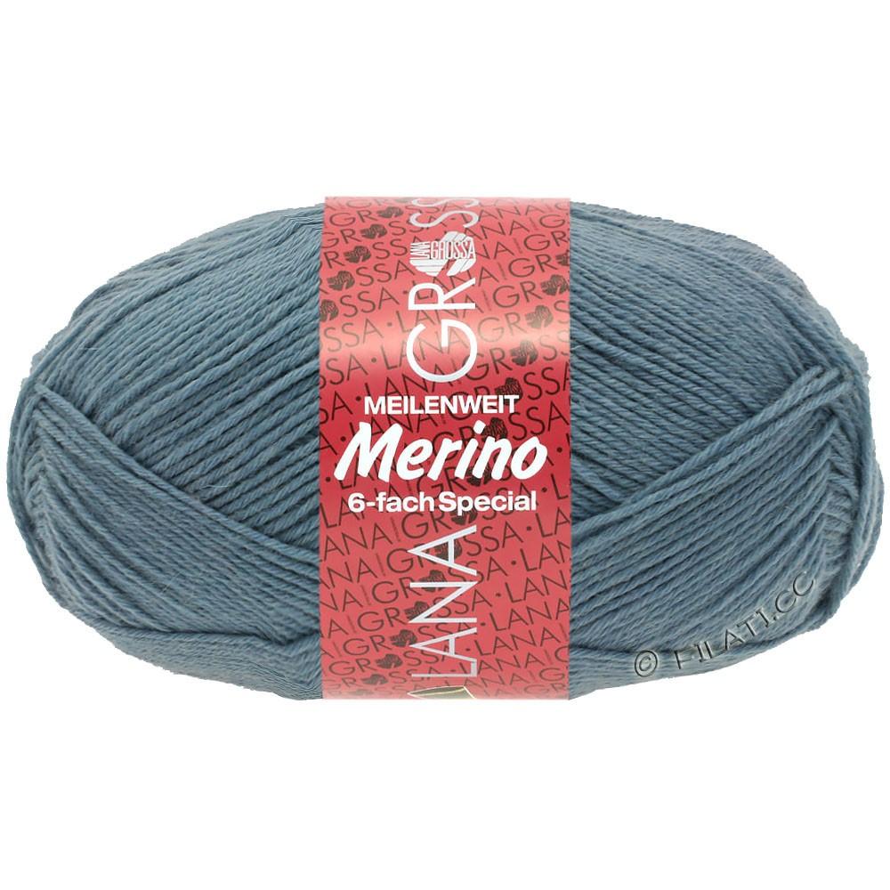 Lana Grossa MEILENWEIT 6-FACH 150g Merino | 3-bleu pigeon