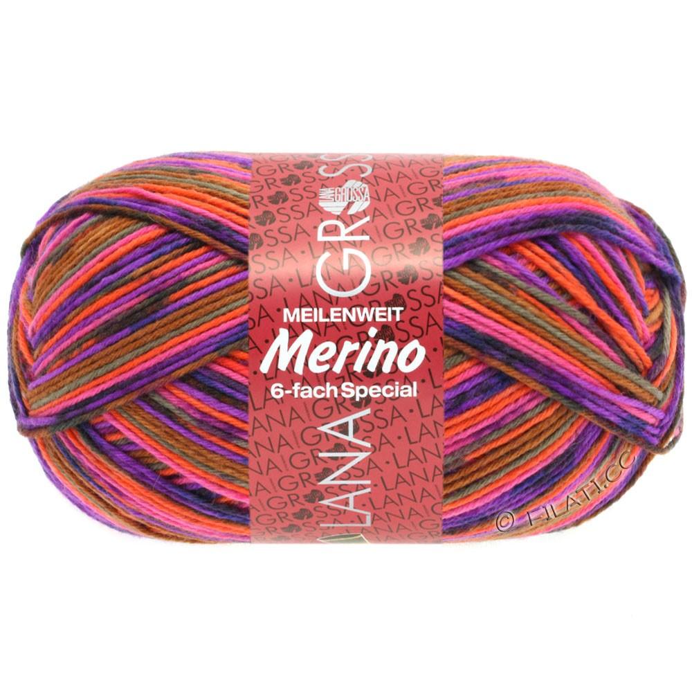 Lana Grossa MEILENWEIT 6-FACH 150g Merino   9184-