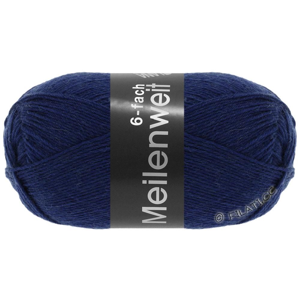 Lana Grossa MEILENWEIT 6-FACH 150g Uni | 8962-bleu foncé