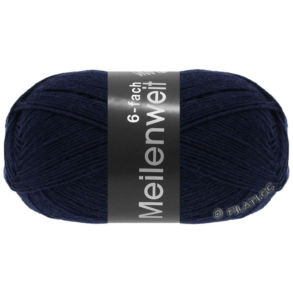 Lana Grossa MEILENWEIT 6-FACH 150g Uni | 8963-bleu nuit