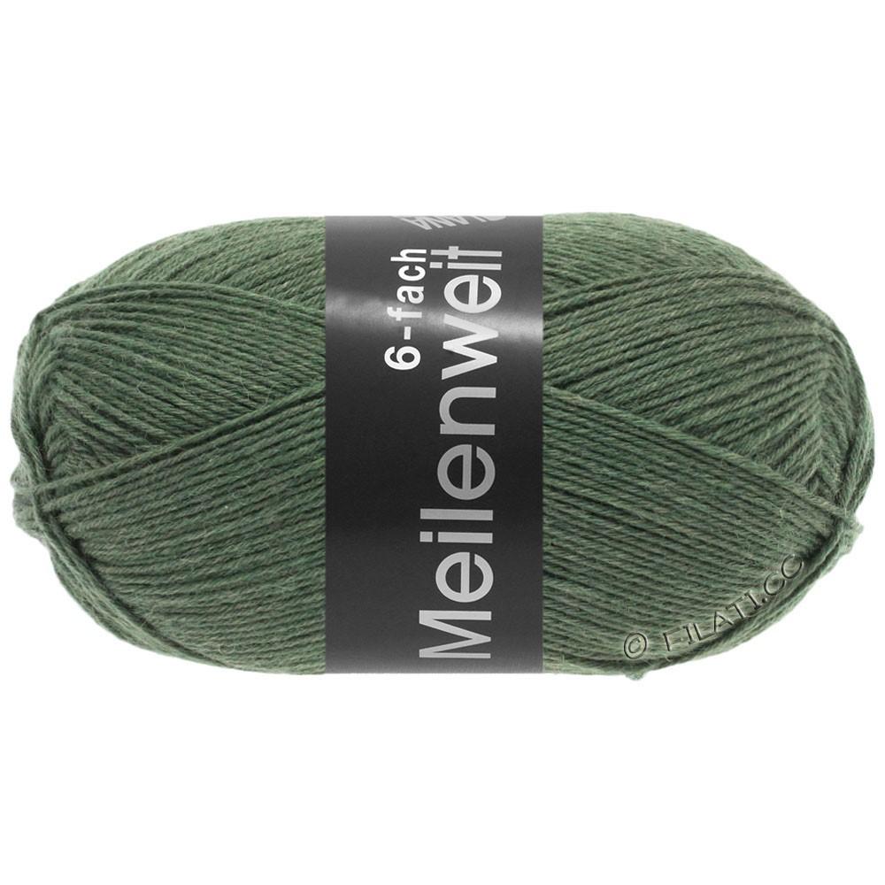 Lana Grossa MEILENWEIT 6-FACH 150g Uni | 9221-olive