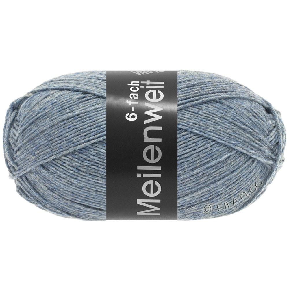 Lana Grossa MEILENWEIT 6-FACH 150g Uni | 9226-bleu clair chiné