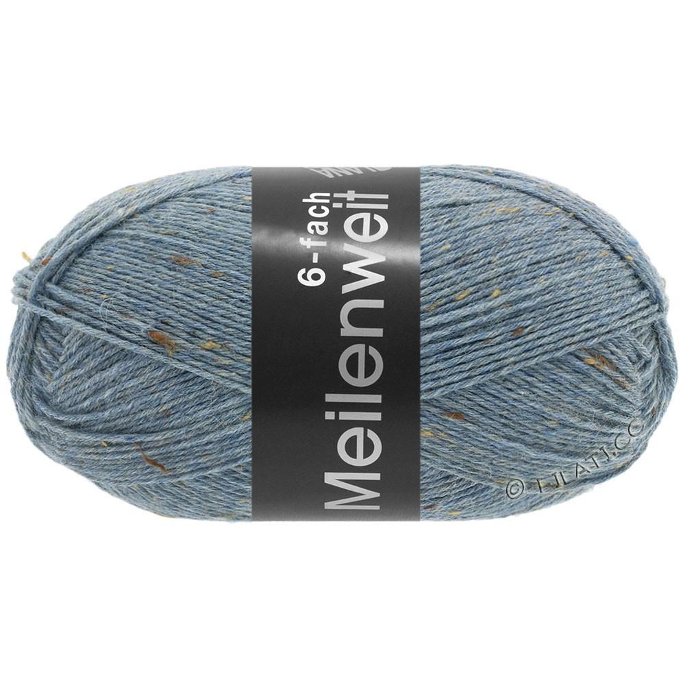 Lana Grossa MEILENWEIT 6-FACH 150g Print/Tweed   9227-bleu jean chiné