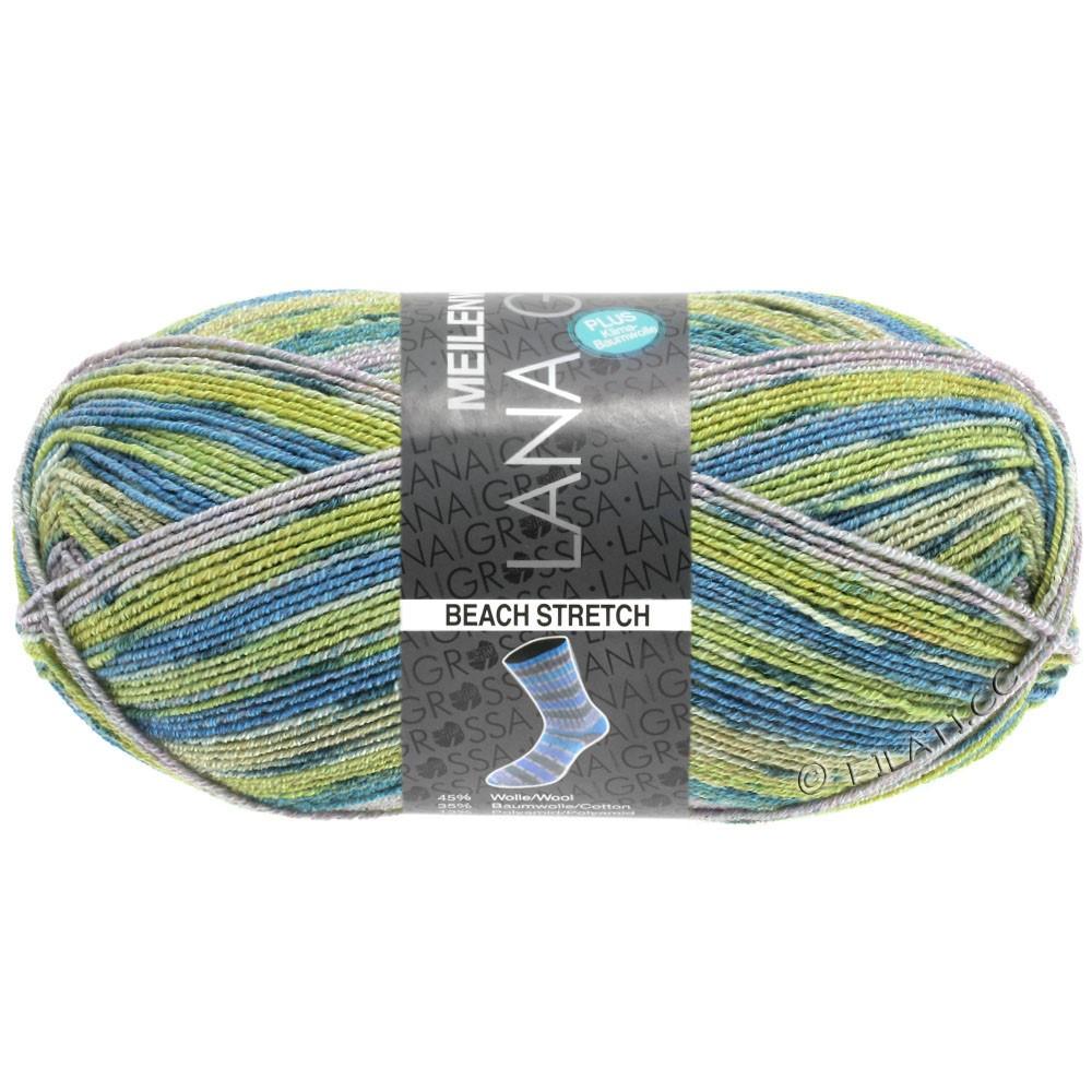 Lana Grossa MEILENWEIT 100g Cotton Stretch Print   6110 - Beach Stretch-