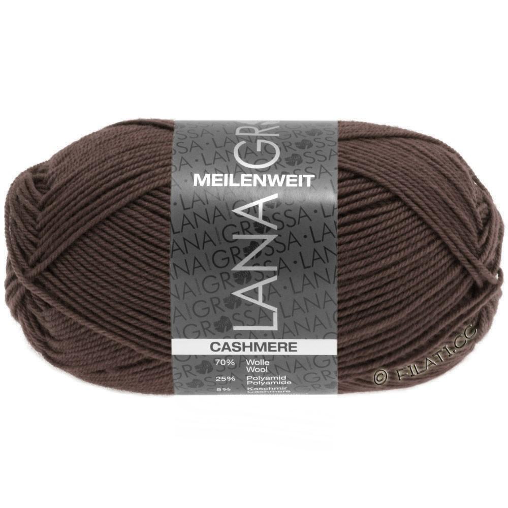 Lana Grossa MEILENWEIT 50g Cashmere | 15-brun