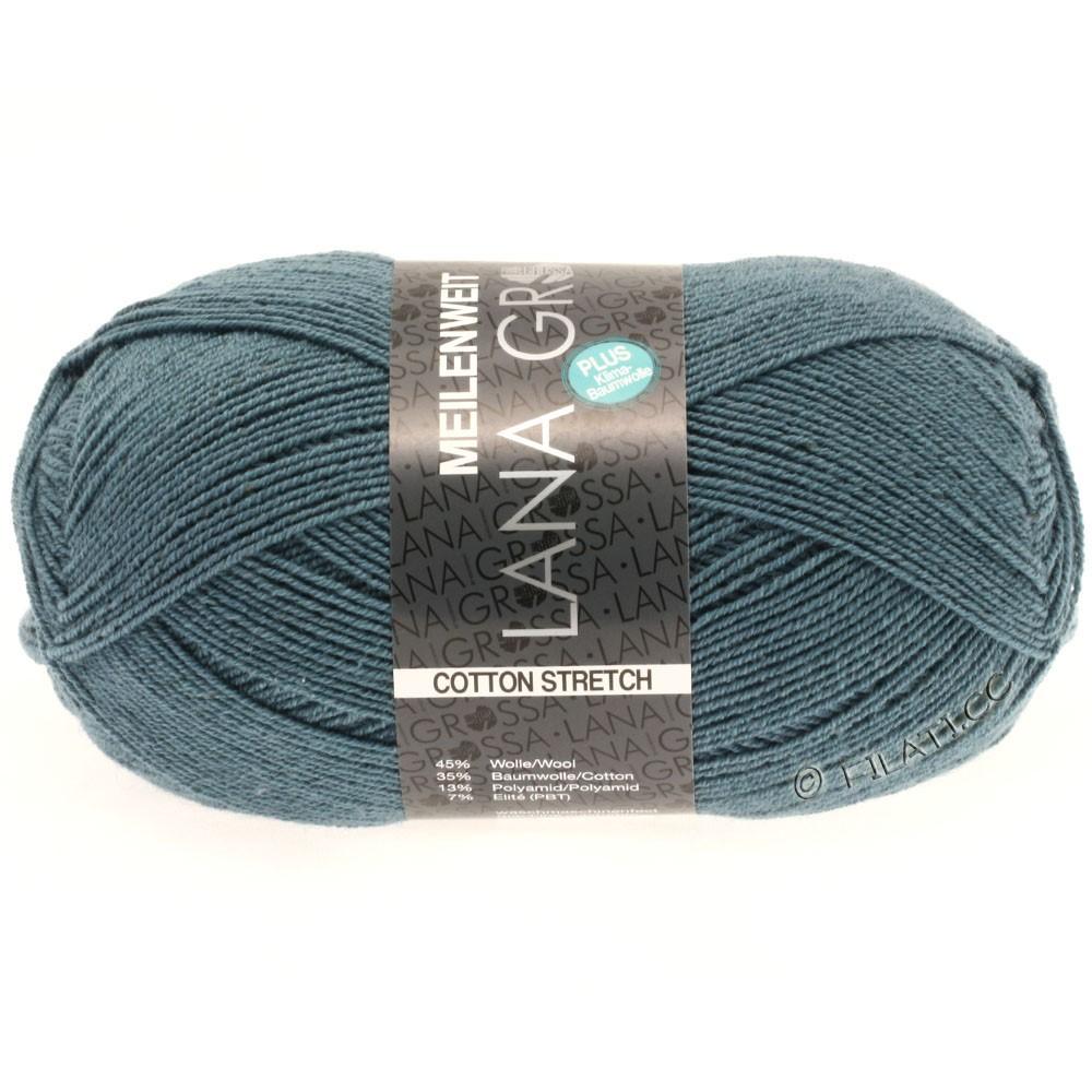 Lana Grossa MEILENWEIT 100g Cotton Stretch | 8012-bleu gris/bleu gris