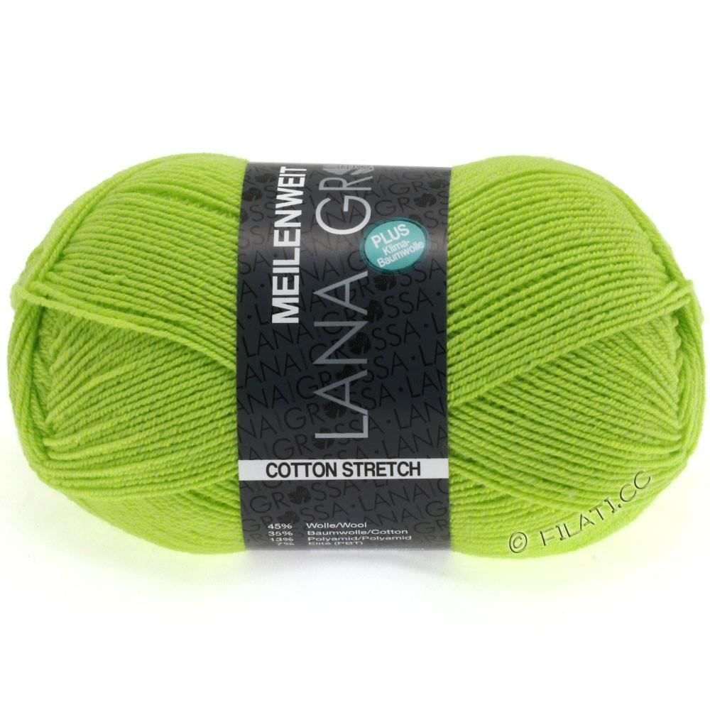 Lana Grossa MEILENWEIT 100g Cotton Stretch   8033-vert kiwi