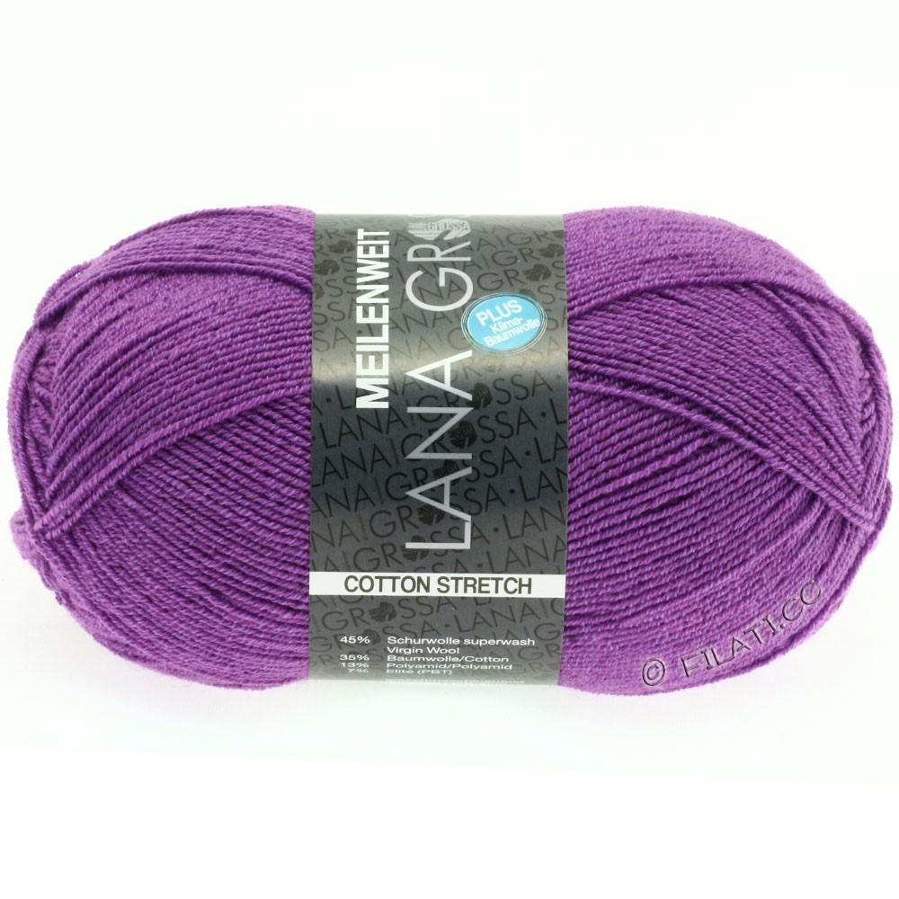 Lana Grossa MEILENWEIT 100g Cotton Stretch | 8037-pourpre