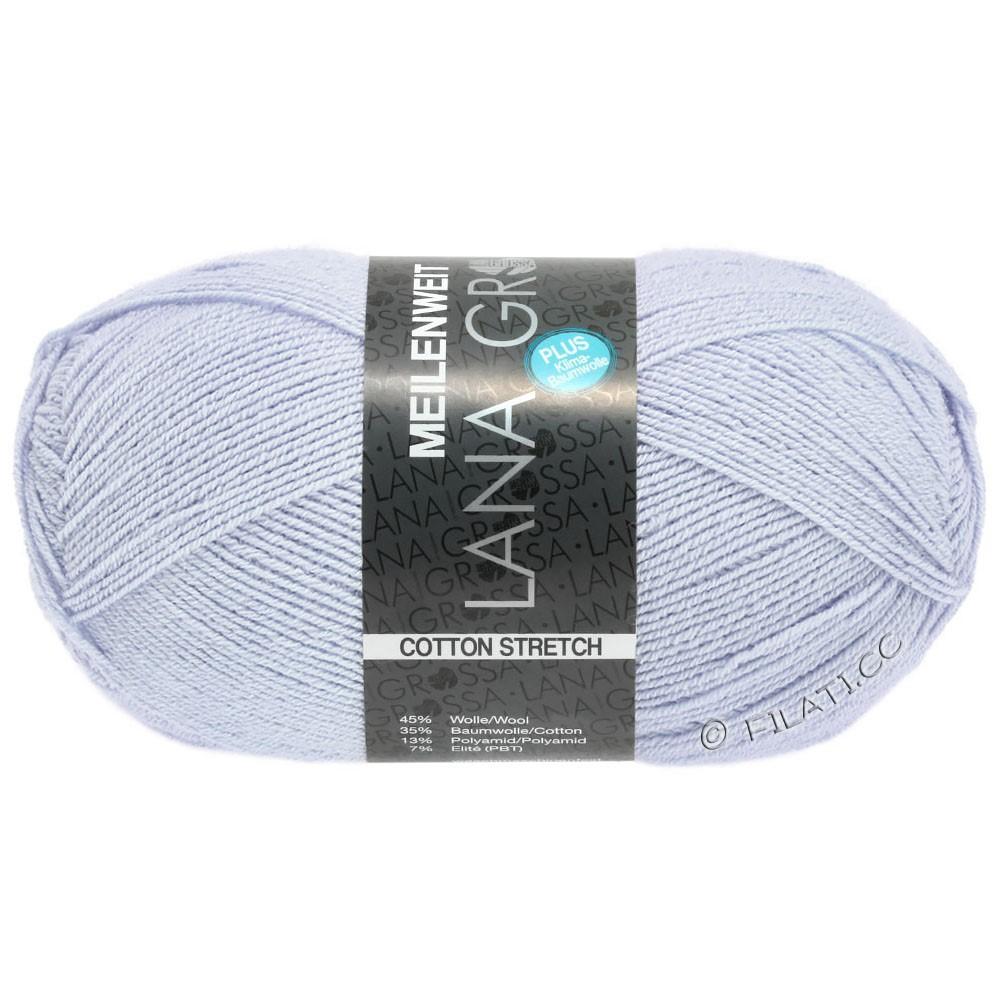 Lana Grossa MEILENWEIT 100g Cotton Stretch   8042-bleu clair