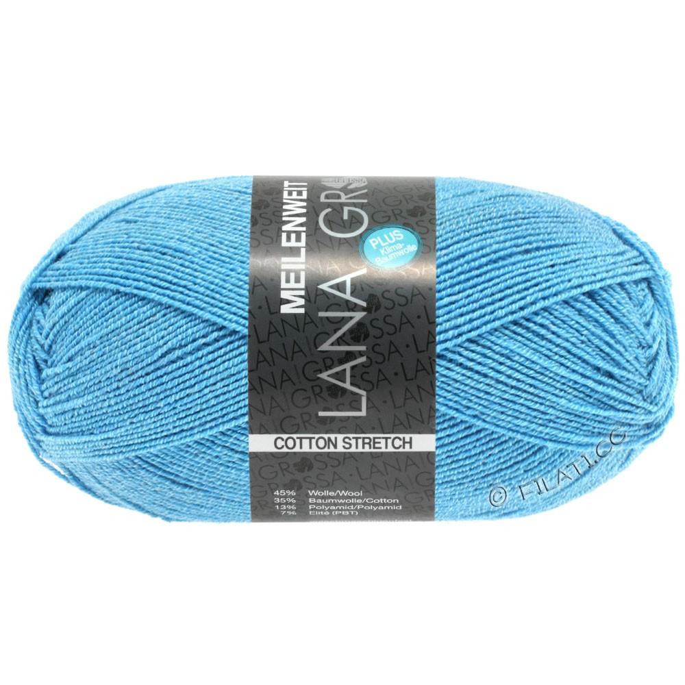 Lana Grossa MEILENWEIT 100g Cotton Stretch   8045-bleu