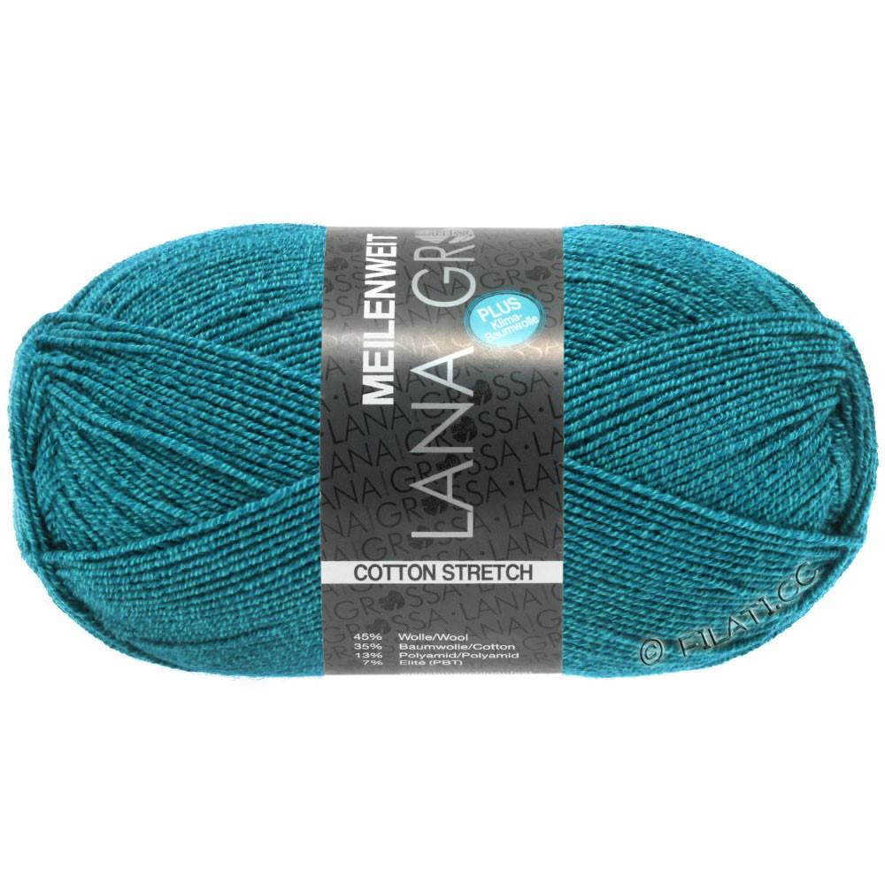 Lana Grossa MEILENWEIT 100g Cotton Stretch | 8053-pétrole