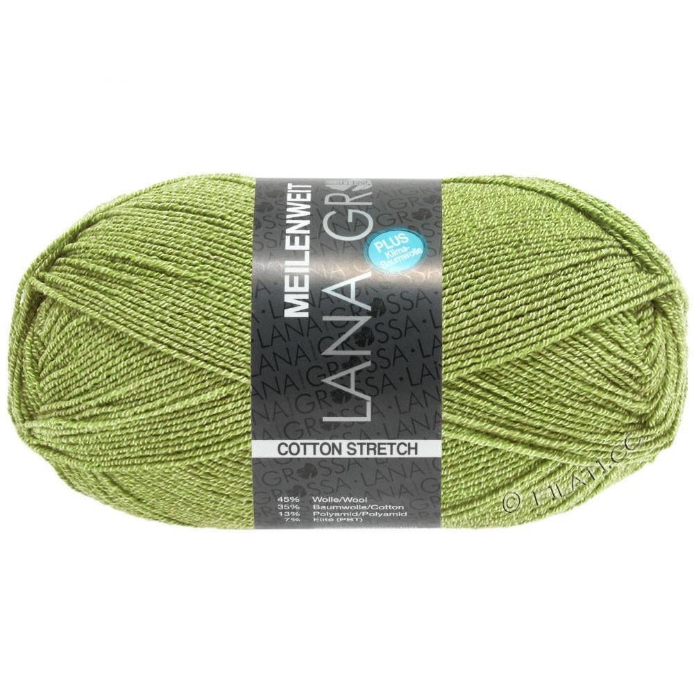 Lana Grossa MEILENWEIT 100g Cotton Stretch | 8054-vert mai
