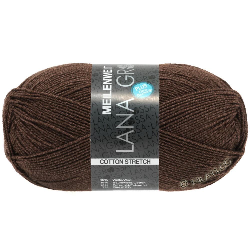 Lana Grossa MEILENWEIT 100g Cotton Stretch | 8056-moka