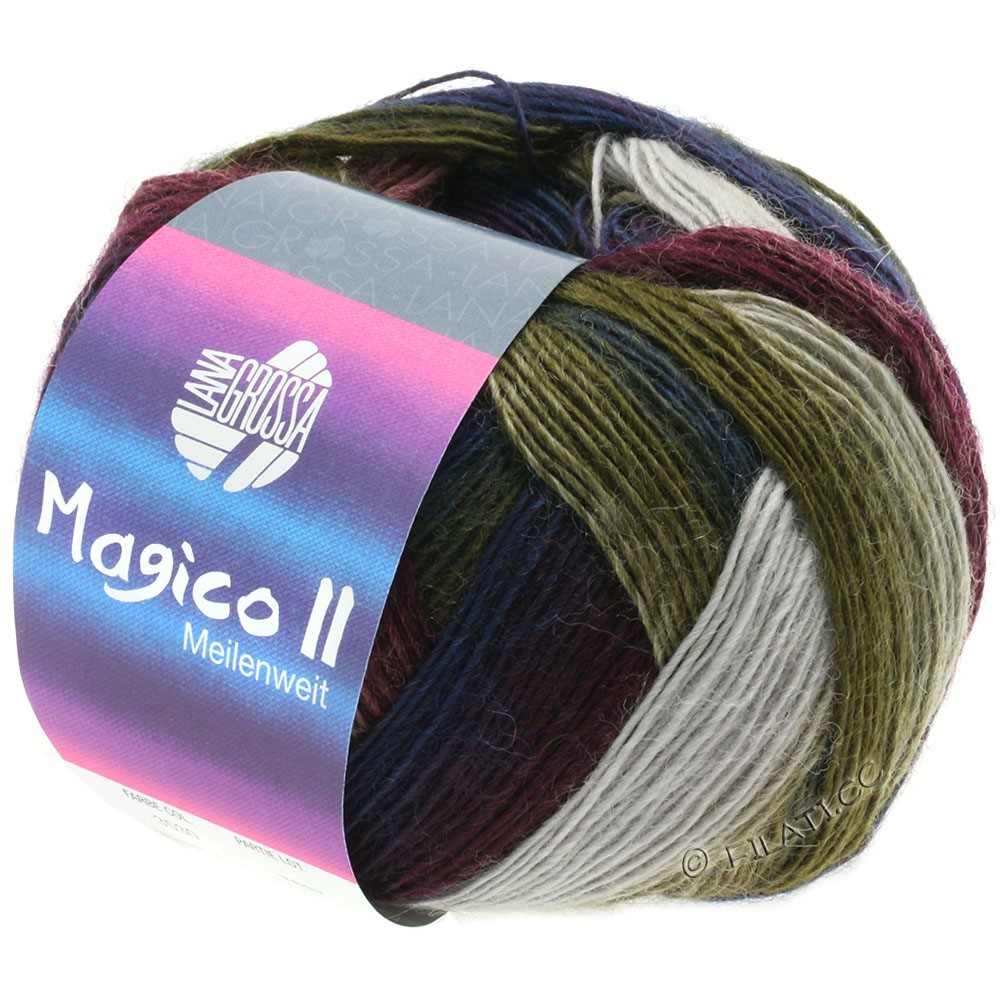 Lana Grossa MEILENWEIT 100g Magico II | 3530-