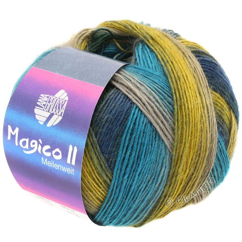 Lana Grossa MEILENWEIT 100g Magico II | 3534-